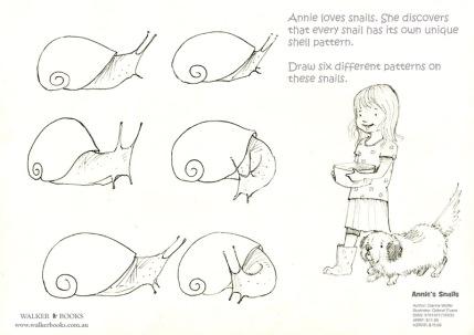 Annie's Snails Activity Sheet 01