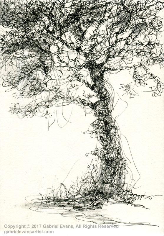 Tree - Ink