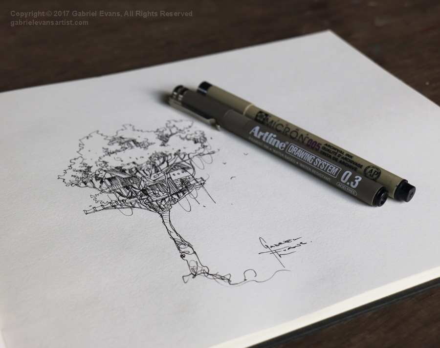Sketchbook Treehouse