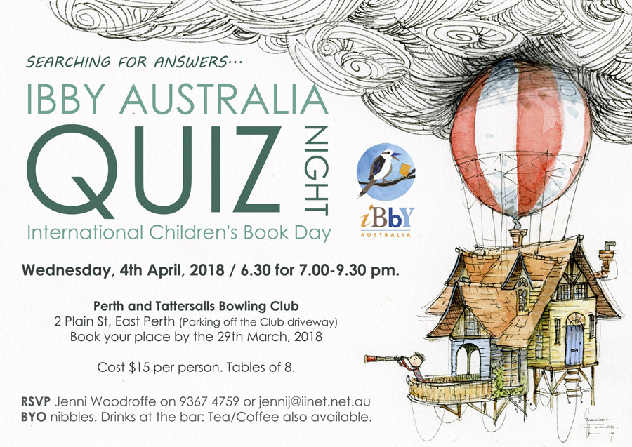 IBBY Australia Poster Design by Gabriel Evans