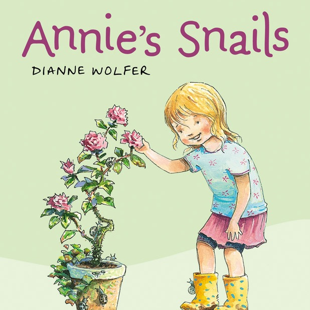 Cover art for Annie's Snails by Dianne Wolfer (Walker Books)