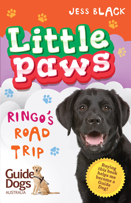 Cover art for Little Paws by Jess Black/Gabriel Evans (Penguin-Random House)
