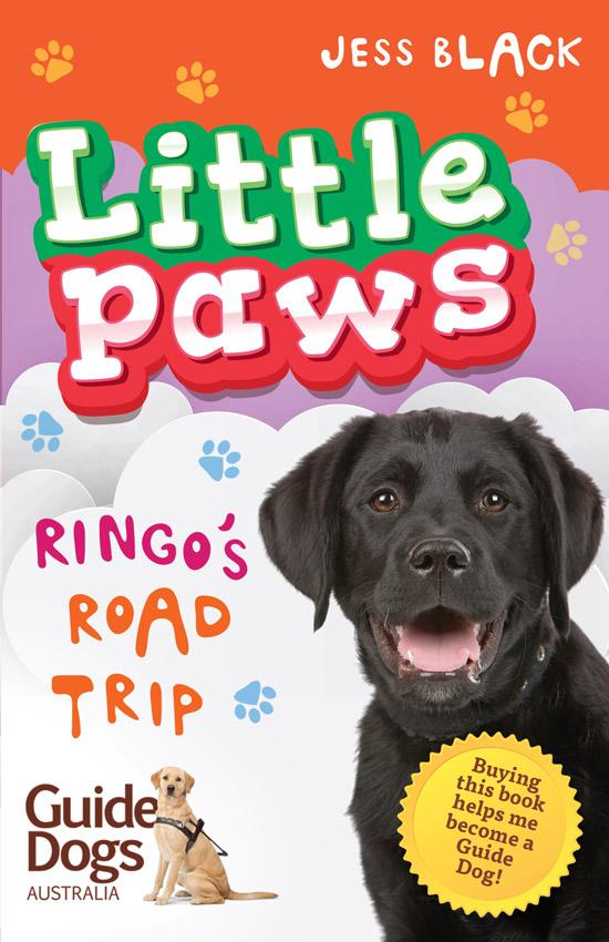 Cover art for Little Paws by Jess Black/Gabriel Evans (Penguin-Random House)