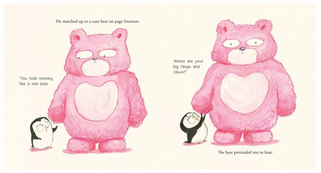 The Cute Penguin - Bear