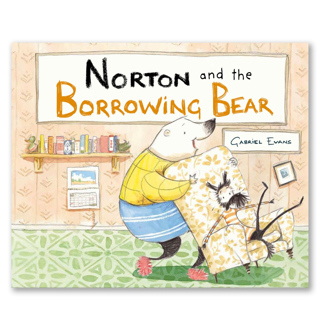 Norton and the Borrowing Bear by Gabriel Evans.